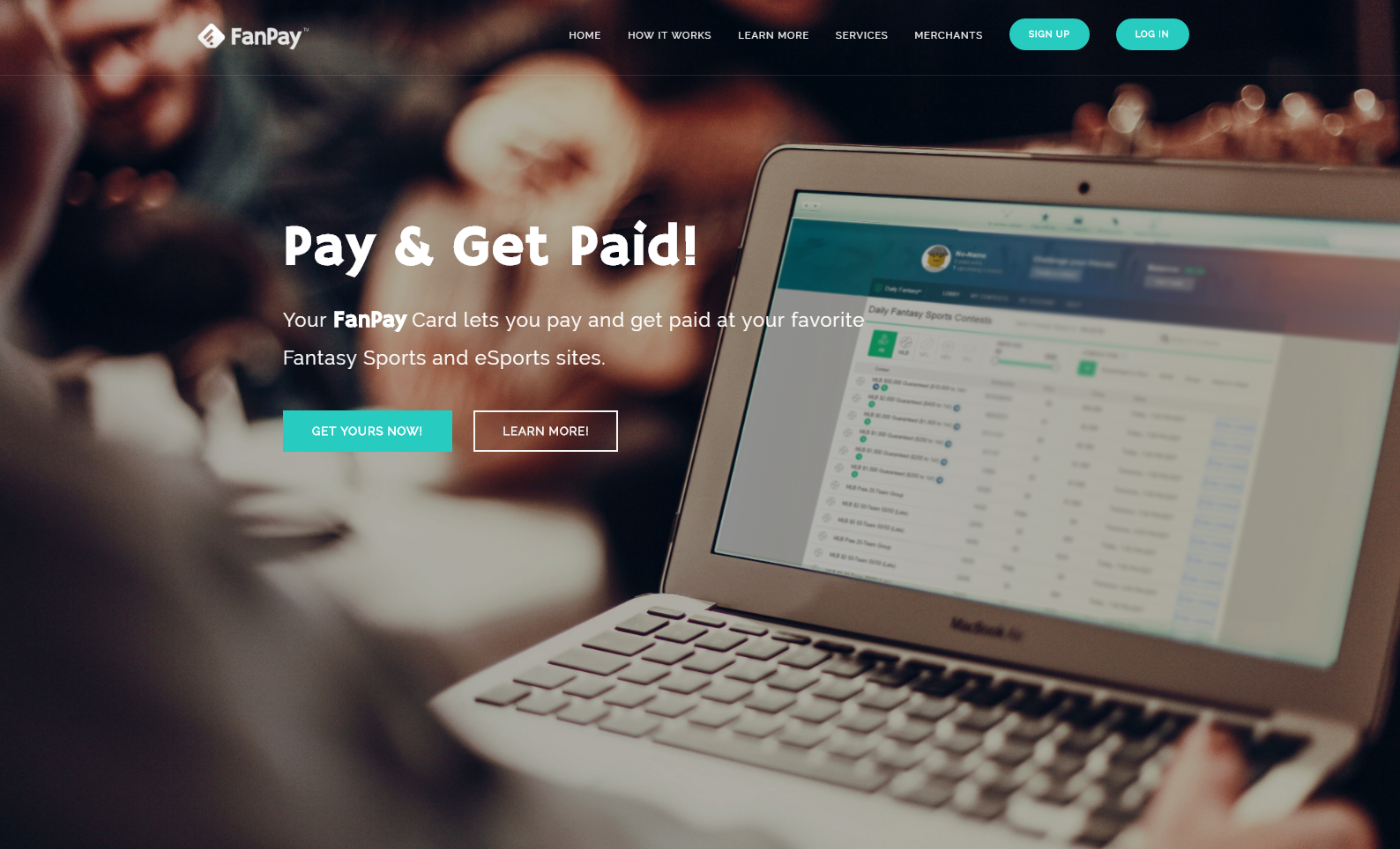 Web Design: FanPayments.com